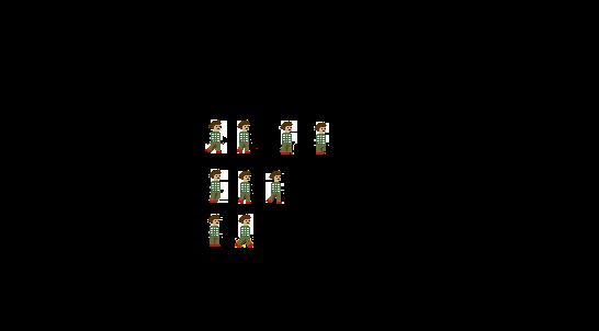 Pixel Sprite: Vorlage